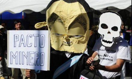 Los pueblos cordilleranos y patagónicos repudian el Pacto Federal Minero
