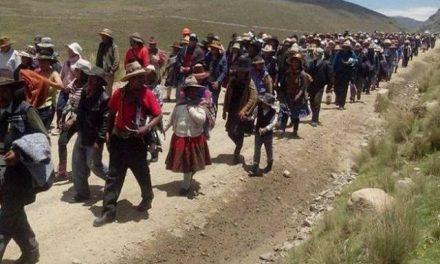 Se cumple el paro contra minera Hudbay en Chumbivilcas