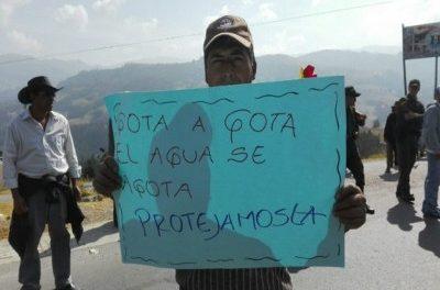Disputa por el agua entre mineros y habitantes de Boyacá