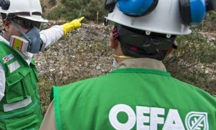 OEFA ordena a minera San Nicolás detener descarga de aguas sin tratamiento en río Tingo