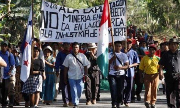 4 años de lucha indígena contra la minería en Panamá