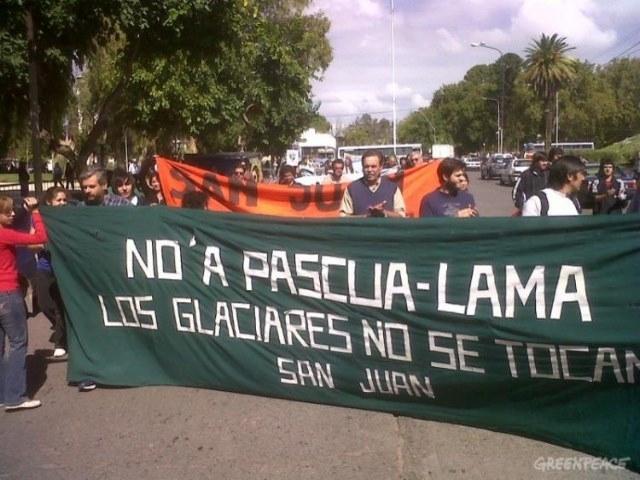 Greenpeace repudió los anuncios de Macri que benefician la minería