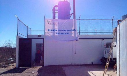 Por el desastre minero en la cuenca del Sonora construyen dos plantas potabilizadoras de agua