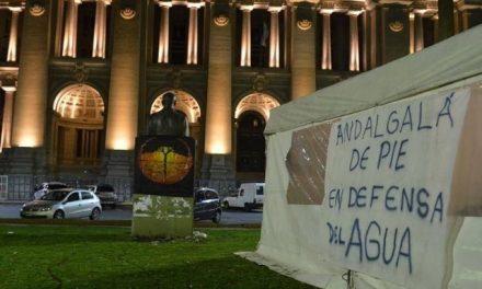 Andalgalá espera un fallo de la Corte contra la minería