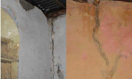 Denuncian daños en casas por explosivos