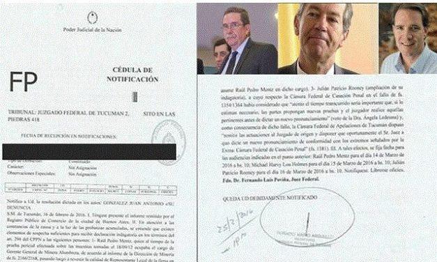 Citan a declaración indagatoria a directivos de Minera La Alumbrera por el delito de contaminación ambiental