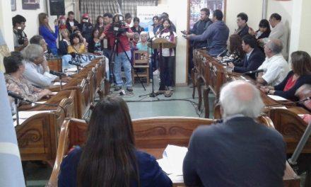 Los concejales de Esquel piden a la Legislatura que trate y dé aprobación a la Iniciativa Popular