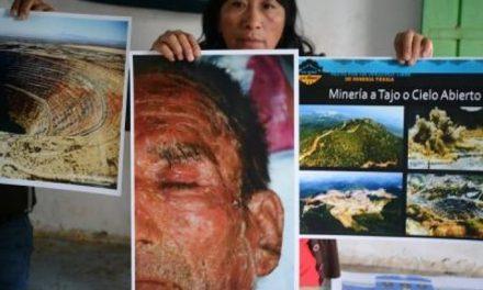 Ejidatarios de Actopan rechazan a minera de cobre en la región
