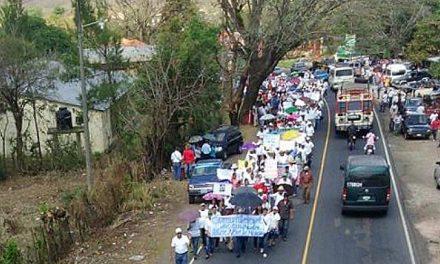Protestan en Jutiapa contra la minería