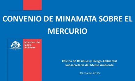 Escandalosa injerencia de gremio minero chileno en ratificación de Convenio Internacional sobre Mercurio
