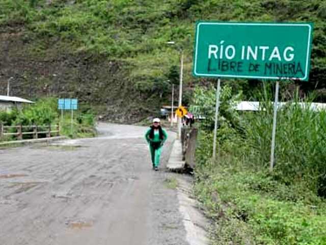 Duro revés para la minera Codelco en el valle de Intag