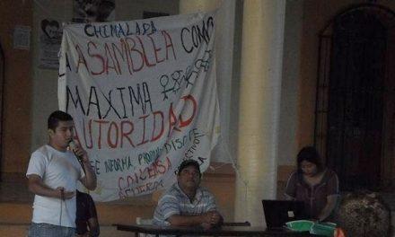 Dicen no al proyecto minero en Chimalapa