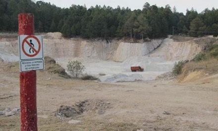 Autorizan en sigilo nueva mina de feldespato en Zacatlán