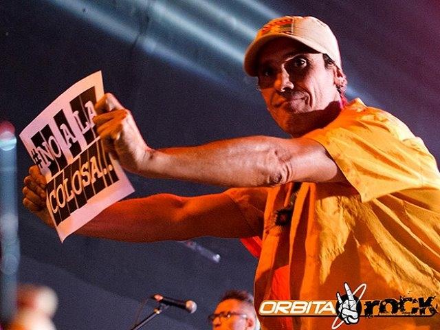 Manu Chao le dijo 'no a La Colosa' durante concierto en Bogotá