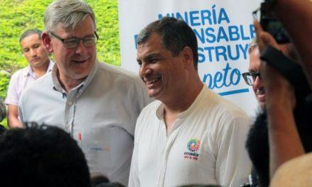 Presidente de Ecuador profetiza notable crecimiento económico gracias a la minería