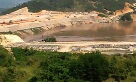 Barrick Gold en Cotuí colmó la presa de relaves tóxicos y planea construir otra