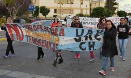 Vecinos de Rawson marcharon contra la megaminería y por el tratamiento del proyecto de ley para prohibir la megaminería