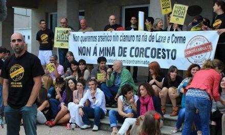Denuncian que alcalde usa recursos públicos para defender la mina de Corcoesto
