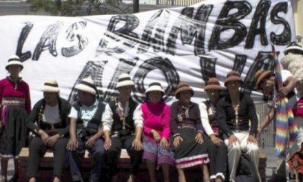 Comuneros en huelga de hambre en Lima contra minería en Las Bambas