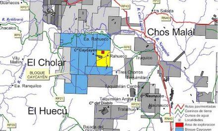 Informe preliminar del proyecto megaminero Caycayén cercano a Chos Malal