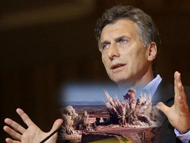 El presidente Macri habló con empresarios de un millonario proyecto minero de la meseta chubutense