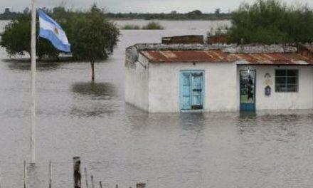 Cosecha soja, siembra inundación
