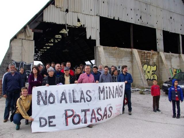 Denuncian los riesgos de la mina de potasa de Sangüesa