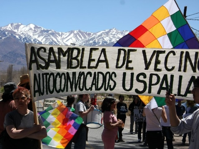 Vecinos de Uspallata quieren que vuelva a aprobarse la ordenanza que impide la minería que el Intendente objetó