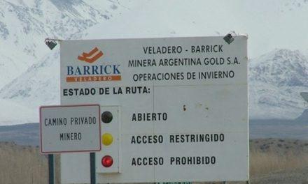 Evalúan un posible cierre de la mina Veladero de Barrick Gold