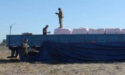 Secuestraron camión en condición irregular con miles de piezas explosivas y detonadores para la minería
