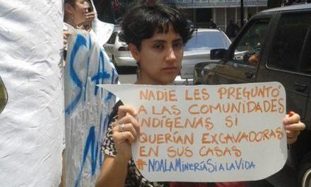 """Protestan en Caracas contra minería en el """"Arco Minero"""""""
