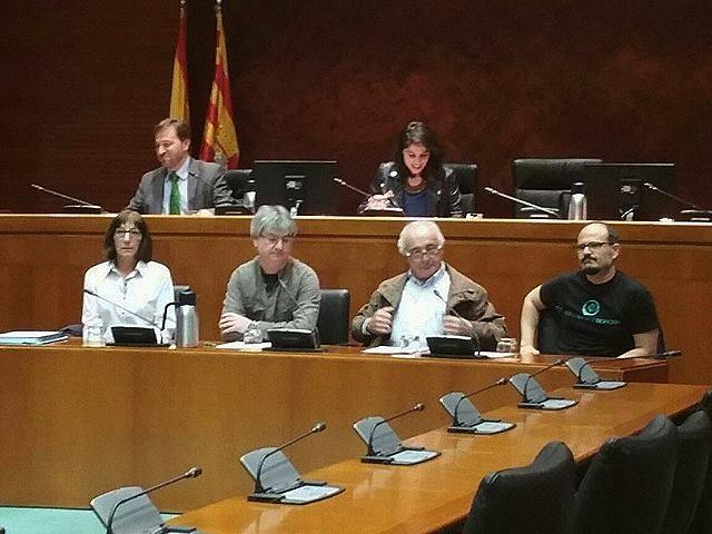 El 'no' a la Mina de Borobia se escucha de nuevo en las Cortes de Aragón