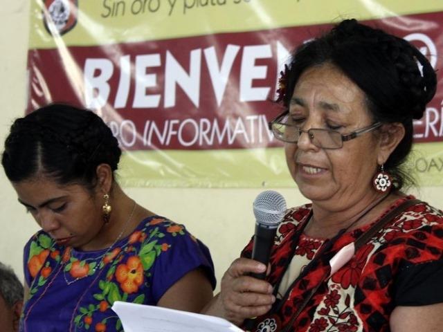 Mujeres de Ciudad Ixtepec rechazan explotación minera