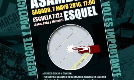 Convocan a asamblea de vecinos de Esquel ante el renovado ataque minero en Chubut