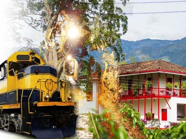 Quindío, una parada desconocida de la locomotora minera