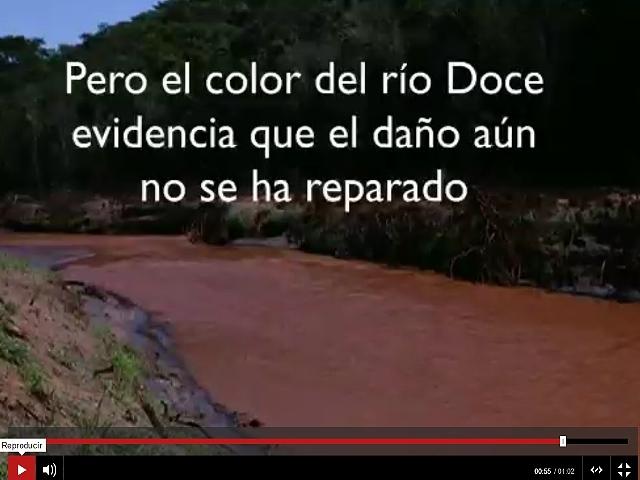 La devastación del accidente de la represa minera en Brasil, seis meses después