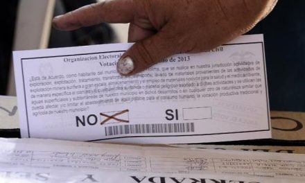 Municpio colombiano de Córdoba decidirá en las urnas si permite minería