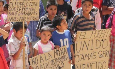 Grave contaminación del agua por minera canadiense en pueblo mágico de Oaxaca