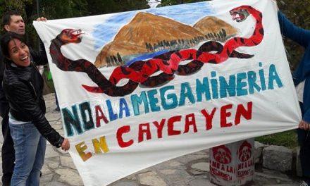 Amparo para los vecinos que se oponen a la minería en el cerro Caycayen