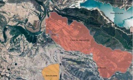 La Junta Aragonesa reclama información sobre las posibles afecciones de la mina de potasa en Ejea