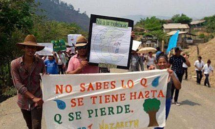 Pobladores de La Unión dicen no a la explotación minera