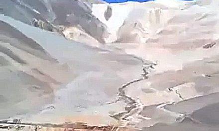 """""""Los glaciares los hicieron mierda allá arriba"""""""