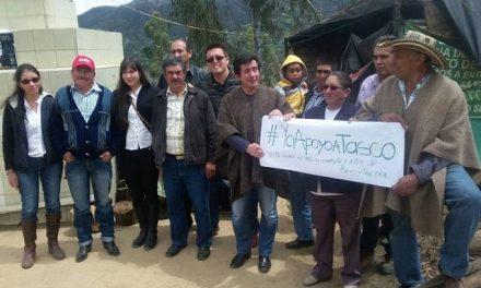 Campesinos protestan hace más de un año en el páramo de Pisba contra la explotación minera