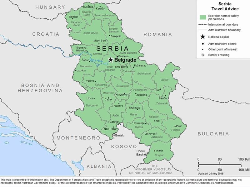 Níquel exploración minera de mineral, Trstenik, Serbia