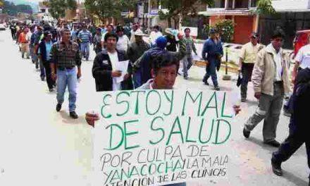 Las comunidades indígenas en Perú protestan contra la minería