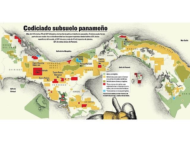 Comunidades reclaman suspender licencias mineras en Panamá