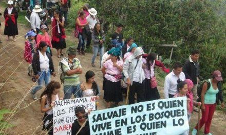 Contra la gran minería y por el territorio se unen los campesinos e indígenas de Nariño