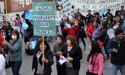 9 meses del desastre megaminero en Jáchal e Iglesia, San Juan