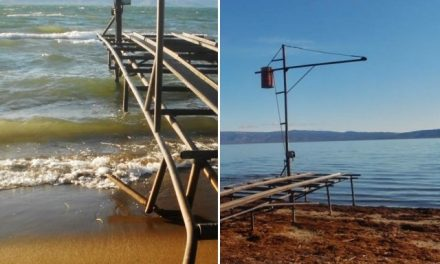 Desaparece el Colhue Huapi y el Lago Músters también se seca