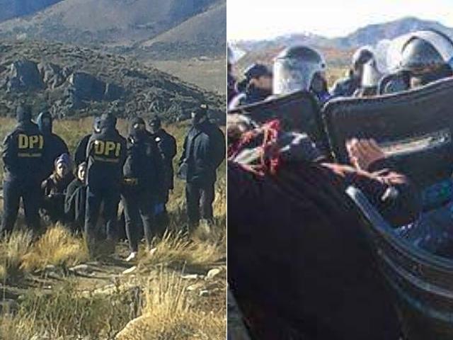 Allanamiento y detenciones contra la recuperación territorial mapuche frente al grupo Benetton. ¿Intento de desalojo encubierto?